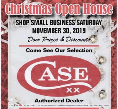 Christmas Open House and Small Business Saturday